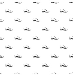 Brogue shoe pattern simple style vector