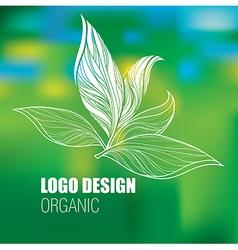 Floral logo new 2 vector