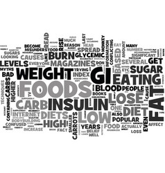 Why low carb diets are bad for weight loss text vector