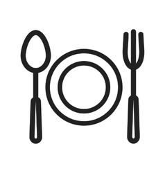 Food dinner vector