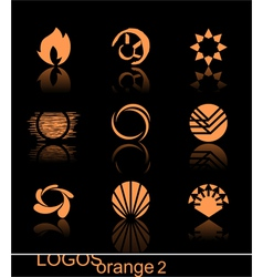 design elements - logos they are ideal for your de vector image
