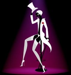 Actor cabaret vector