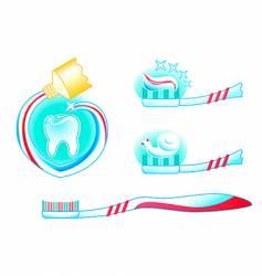 help your teeth be healthy vector image vector image