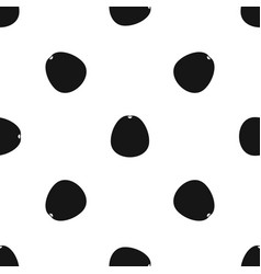 Pomelo pattern seamless black vector