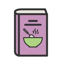 Recipes book ii vector