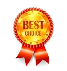 Best Choice Award vector image