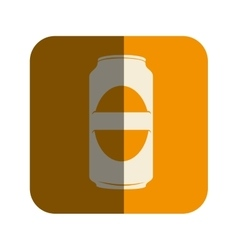 Beer can drink icon vector