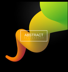 abstract 3d colorful stripe vector image