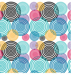 Colors geometric pattern background vector