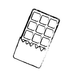 delicious cookie Cartoon vector image vector image