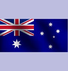flag of australia - vector image