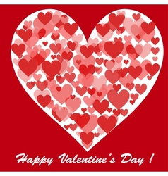 Happy Valentines Day Card for your design vector image vector image