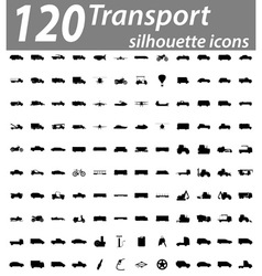 set transport flat icons 05 vector image vector image