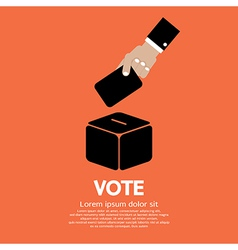 Voting System vector image
