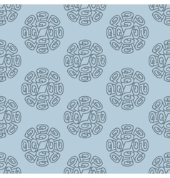 Roll wallpaper seamless pattern vector
