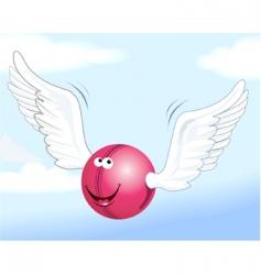 cartoon ball vector image