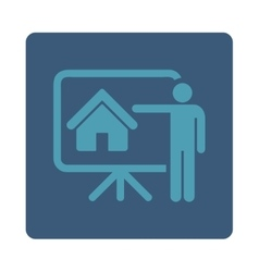 Realtor icon vector