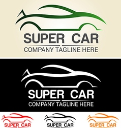 Car logo 3 vector