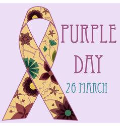 Background-purple-day-retro-2 vector image