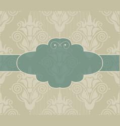 Mint frame vector image