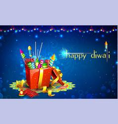 Diwali gift vector