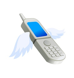 Icon mobile phone vector