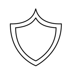 Shield icon image vector