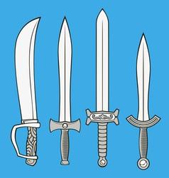 Swords vector