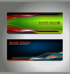 web header banner vector image vector image