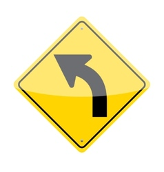 Left curve sign vector
