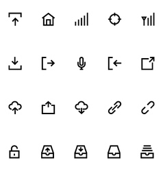 Apple watch icons 3 vector