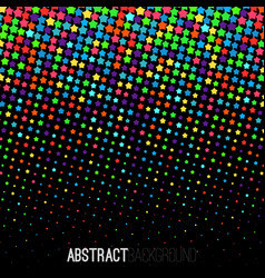 absract halftone geometric background vector image