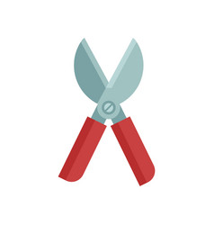 Garden secateurs icon vector
