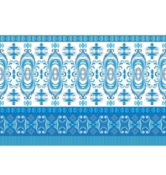 horizontal seamless border Beautiful vector image