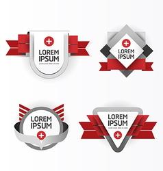Modern Design modern Labels vector image vector image