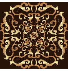 ornament design vector image