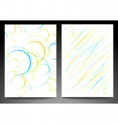 Abstract backdrops vector