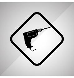 Drill tool design vector