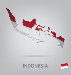 indonesia vector image vector image