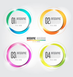 Infographics design element vector