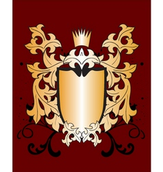 Heraldry shield vector