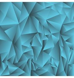 Blue crystal background vector