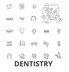 dentistry dentist dental dental care dentist vector image
