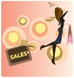 fashion sales vector image