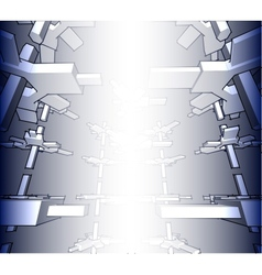 sketch of an abstract architecture vector image vector image