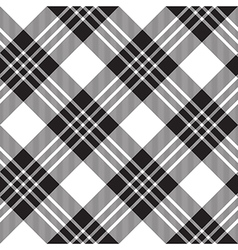Macgregor tartan diagonal background pattern vector image