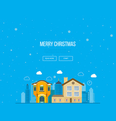 concept of the expectations festive atmosphere vector image