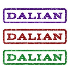 Dalian watermark stamp vector