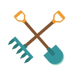 Gardening tools icon flat graphic design farm vector