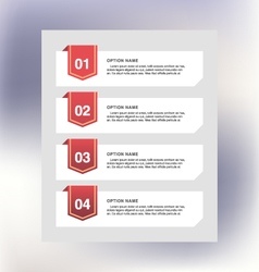 Process template vector image
